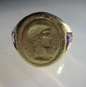#R020 ROMAN EMPORER AMETHYST