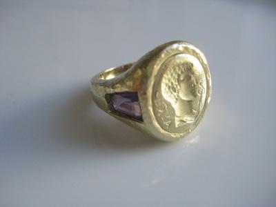 #R020 ROMAN EMPERER AMETHYST