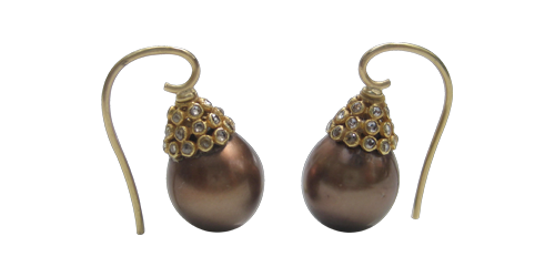 CINNO-CHOCOLATE PEARLS FROM THE INDIAN COLLECTION