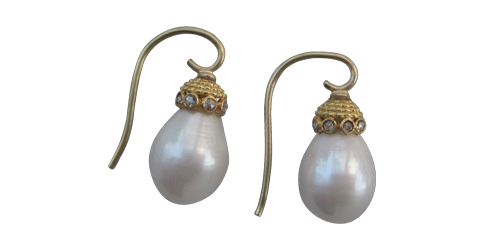 RAIN DROP PEARLS FROM THE INDIAN COLLECTION