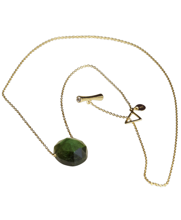 Tourmaline Slider Necklace