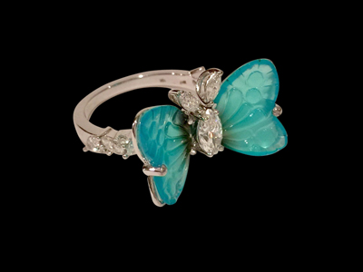 #R052 Butterfly Ring $ 6,000.00