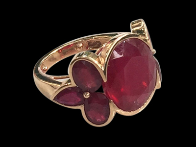 #R043 Samode Ruby Ring $ 6,000.00