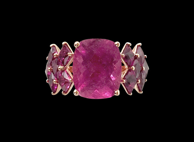 #R039 Pink Princess ring