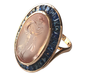 judith Morganite Ring