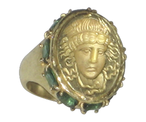 MEDUSA IN TOURMALINE