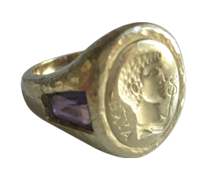 ROMAN EMPEROR AMETHYST